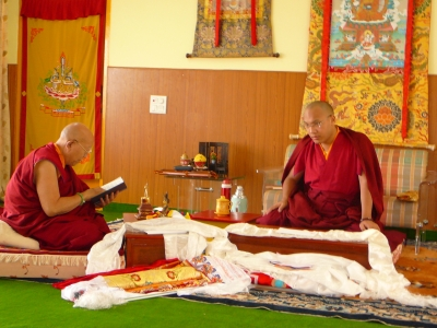 rinpoche and karmapa